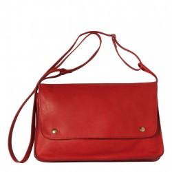 Sac Vintage - Rouge - 100% Cuir