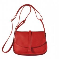 Sac Petit EMA - Rouge - 100% Cuir