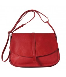 Sac Grand EMA - Rouge - 100% Cuir