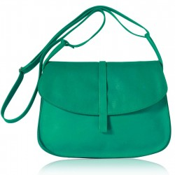 Sac Grand EMA - Lagon - 100% Cuir