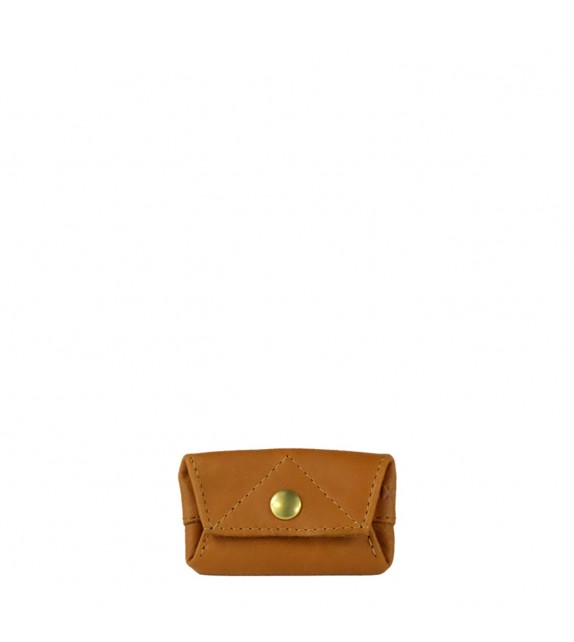 Porte-monnaie Aline - Cognac - 100% cuir