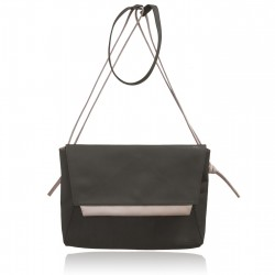 Sac Grand Aline en cuir Anthracite
