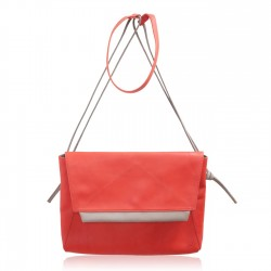 Sac Grand Aline en cuir Rouge