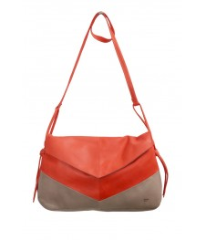Sac Grand Paloma Rouge - Cuir