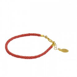 Bracelet Simple Rouge Uni
