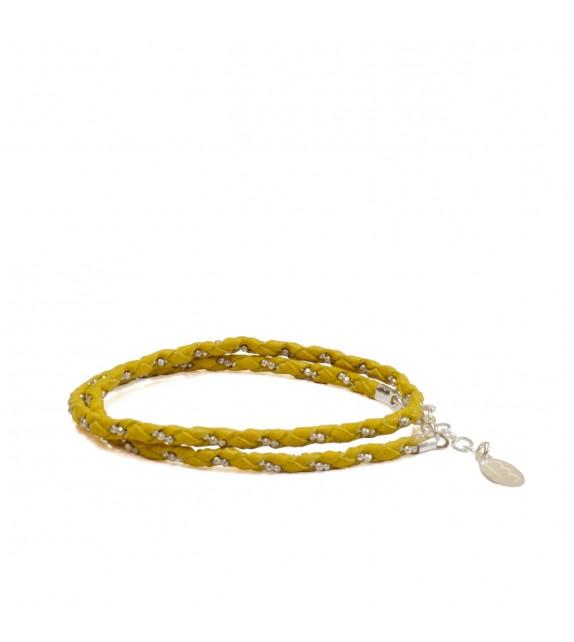 Bracelet Double Jaune/Argent