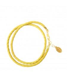 Bracelet Double Jaune