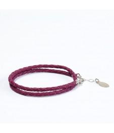 Bracelet Double Fuchsia