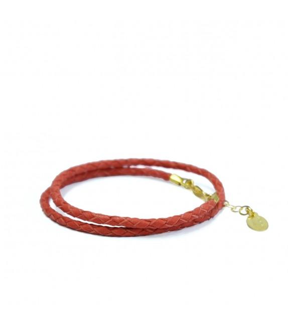 Bracelet Double Rouge