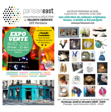Exposition / Vente Parisianeast