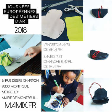 Atelier 'do it yourself' -MAMIX JEMA 2018