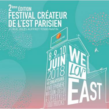 we lov'east / 8, 9 et 10 juin 2018