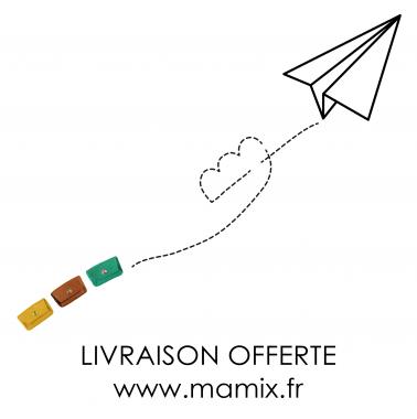 livraison offerte / www.mamix.fr